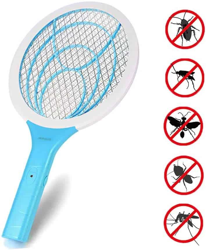 raquette-anti moustique-insectes-volatiles-electrique-uv-lampe-anti insecte-repousser-tuer-meilleur