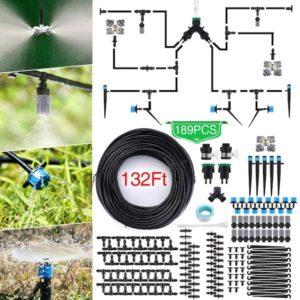 Kit irrigation eau arroser jardin jardinage plantes produit tuyau