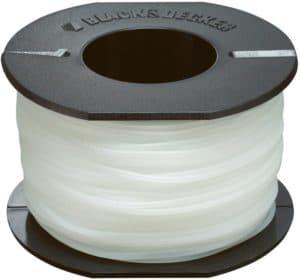 Bobine nylon fil transparent résistance black decker jardin jardinage meilleur vente
